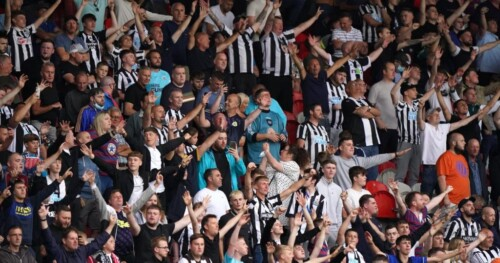 Newcastle Fans not fond of the new club owner 6